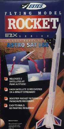 Estes #2133 E2X Series Astro SAT LSX Flying Model Rocket Kit,Needs Assembly